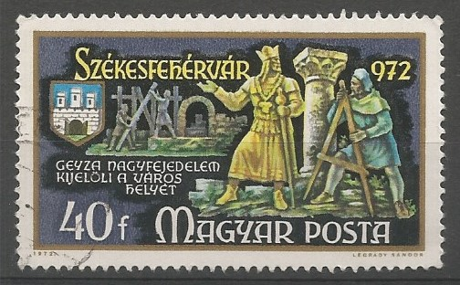 Géza, nagyfejedelem, 971-997