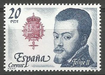 Felipe II; príncipe de Asturias, 1528-1556