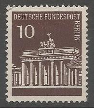 Brandenburg gate, 1791