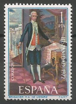 brigadier Ustaritz; gobernador de Puerto Rico, 1789-1792