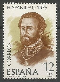 Tomás de Acosta y Hurtado de Mendoza; gobernador de Costa Rica, 1797-1810