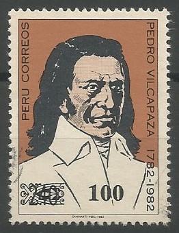 Pedro Vilcapaza Alarcón; general, merchant