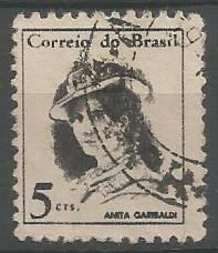 Anita Garibaldi;  municiera do exército Rio-Grandense, 1840
