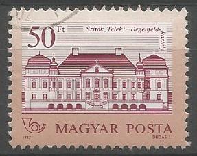postage stamp designer: Teleki-Degenfeld castle