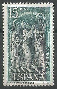 monasterio de Santo Domingo de Silos (machón noroeste del claustro), 1050=1150