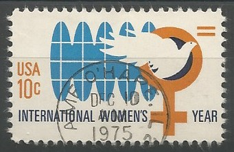 postage stamp designer: international women's year