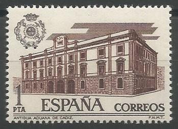 palacio de la Diputación (Aduana), 1770-1784