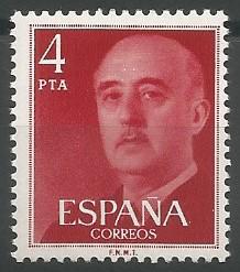 Staatschef von Spanien, 1939-1975