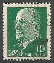 Walter Ulbricht; Staatsratsvorsitzender der Deutschen Demokratischen Republik, 1960-1973