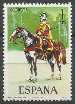 Equus caballus, 1603
