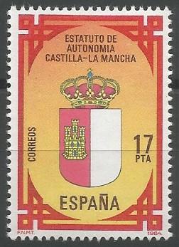 comunidad autónoma de Castilla - La Mancha, 1982