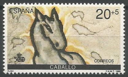 caballo, 1492