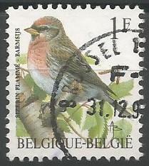 postage stamp designer: redpoll