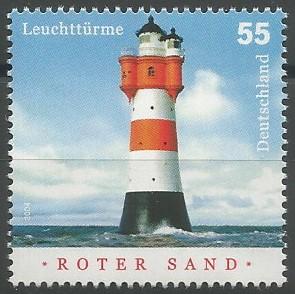 Leuchtturm Roter Sand, 1885