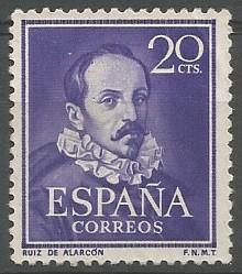 Taxco de Alarcón, 1572 - Madrid, 1639