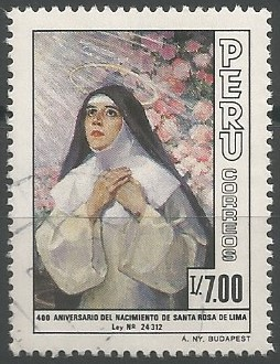 Saint Rose of Lima, Dominican tertiary