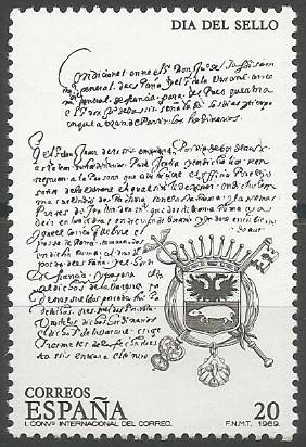 Correo mayor general de España, 1579-1607.