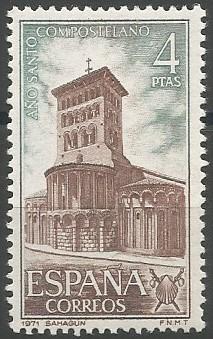 iglesia de San Tirso (Sahagún), 1123