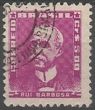 Rui Barbosa, jurista; ministro da fazenda, 1889-1891; ministro da justiça, 1889; senador federal do Brasil pelo estado da Bahia, 1890-1921