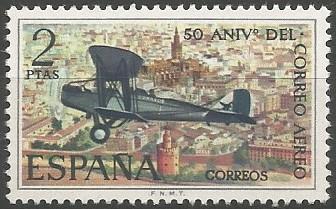 Sevilla (Compañía Española de Tráfico Aéreo), 1921