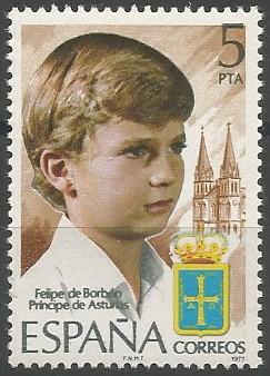 príncipe de Asturias, 1977-2014