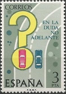 Director general de tráfico, 1974-1976.