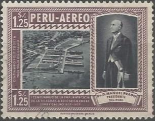 ingeniero civil; presidente de la República del Perú, 1956-1962