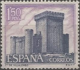 castillo de Villalonso, 1470