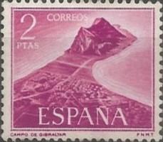parece conveniente la emisión de una serie especial de sellos de correo, por lo que este ministerio se ha servido disponer: Con la denominación de «Gibraltar», por la Fábrica Nacional de la Moneda y Timbre se procederá a la fabricación de una serie de sellos de correo integrada por dos valores, de 1,50 y 2 pesetas, que serán emitidos en huecograbado y monocolor