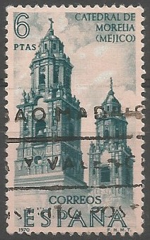 Vicente Barroso de la Escayola; architect: Morelia Cathedral, 1658-1692