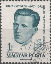 As member of the Party of Socialist Communist Workers in Hungary, Kilián György went to the Soviet Union, after being released from prison in 1939, and when he parachuted down as partisan on Poland, he was killed in action during 1943.