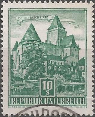 postage stamp engraver: Burg Heidenreichstein