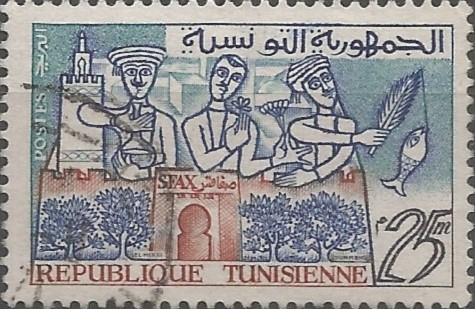 postage stamp designer: Sfax