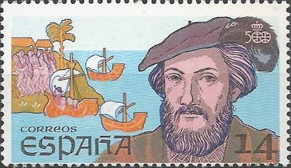 Américo Vespucio; cosmographer; pilot major of Castile, 1508