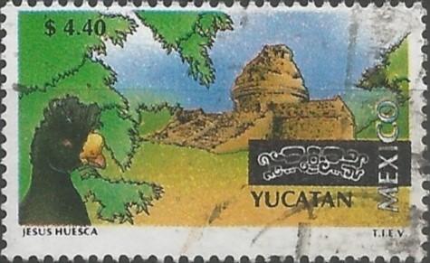 diseñador de estampillas: Yucatán