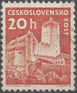 postage stamp designer: Kost Castle