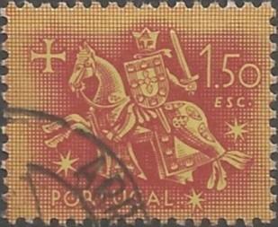 desenhista de selos postais: selo de autoridade do rei Dinis
