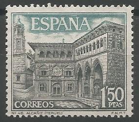 postage stamp engraver: Alcañiz
