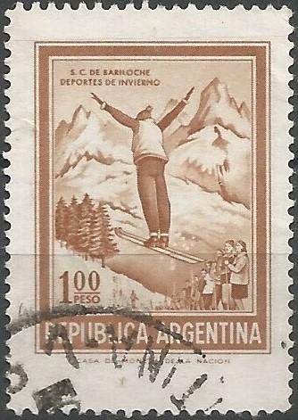 San Carlos de Bariloche: ski jumper