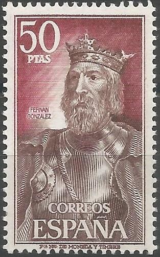 Fernán González; conde de Castilla, 945-969