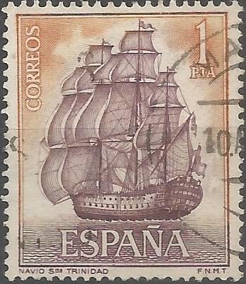 Mateo Mullan; naval architect: first-rate ship of the line Nuestra Señora de la Santísima Trinidad, 1769-1805