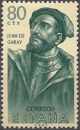 Juan Garai; gobernador del Río de la Plata y del Paraguay (Asunción), 1578-1583