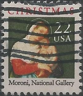 Christmas: the Madonna and child