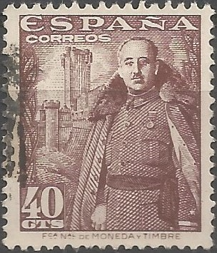 head of state of Spain, 1939-1975