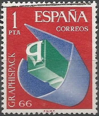 Barcelona acogió, del 4 al 13 de marzo, el salón Graphispack-66, que agrupaba el de las artes gráficas, y el del envase y embalaje. Las instalaciones ocuparon tres edificios de la Feria de Muestras: el Palacio Ferial, el de las Naciones y el de la Metalurgia.