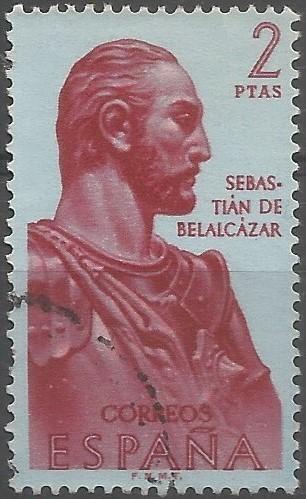 Sebastián Moyano Cabrera; gobernador y capitán general de Popayán, 1540-1550