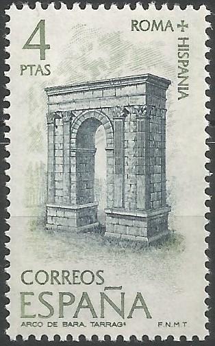Aixecat en el traçat de la via Augusta, a uns 20 km. al nord-est de Tarraco, l'arc honorífic de Berà fou erigit per disposició testamentària de Lucius Licinius Sura,  entre el 15 i el 5 AEC, i dedicat a l'emperador Octavius Augustus. I fou construït amb carreus (paral·lelepípedes rectangulars) de pedra calcària procedent de la propera pedrera de n'Elies, emprant el sistema opus quadratum. (MNAT)