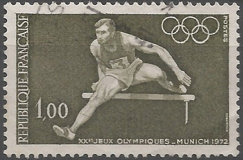 postage stamp designer:  Games of the XX Olympiad, Munich 1972: athletics