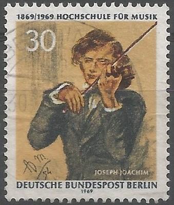 Joseph Joachim; musician: composer, conductor, violinist, violist