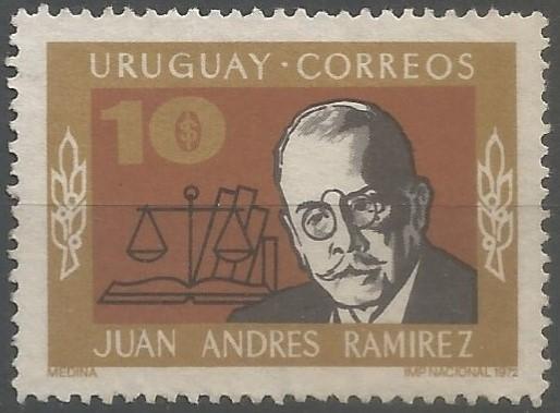 journalist, jurist; president of the senate of Uruguay in 1932 (Partido Nacional)